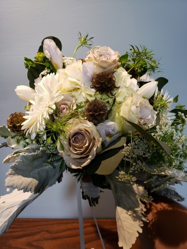 Peaceful White Bouquet