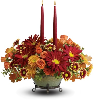 Tuscan Autumn Centerpiece